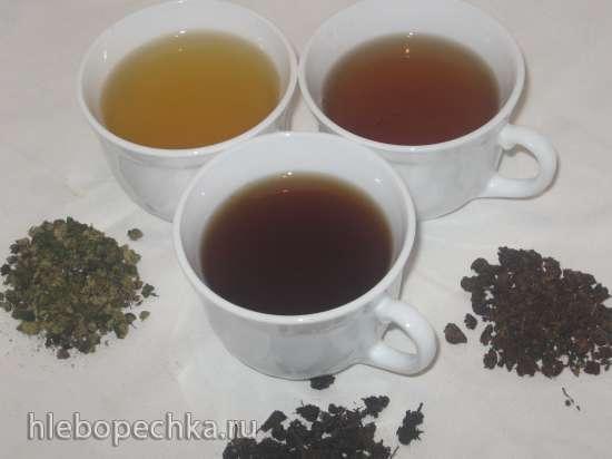Ферментация листьев иван-чая.