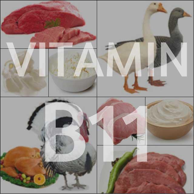 Витамины для мужчин. Витамин В11