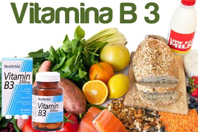 Витамины для мужчин. Витамин В3