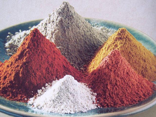 Фото различных цветов глины